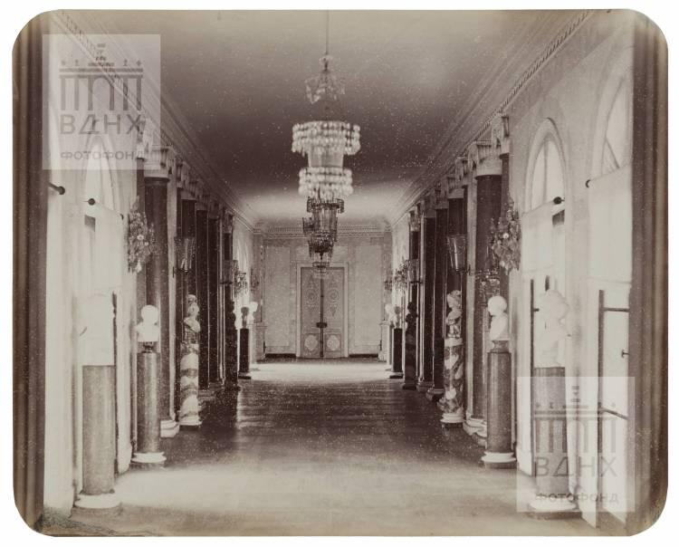 Останкинский дворец. Западная галерея. 1868-1870