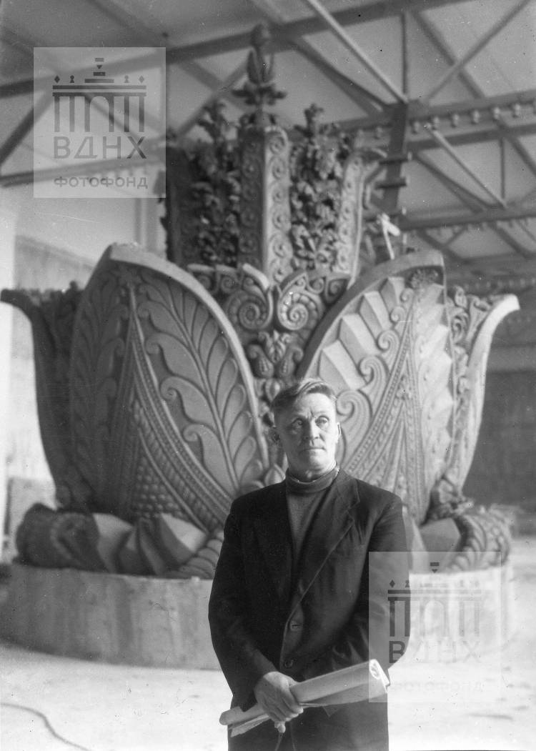 Скульптор Прокопий Добрынин
