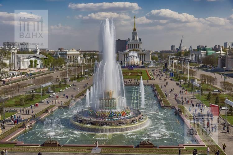 Открытие сезона фонтанов на ВДНХ