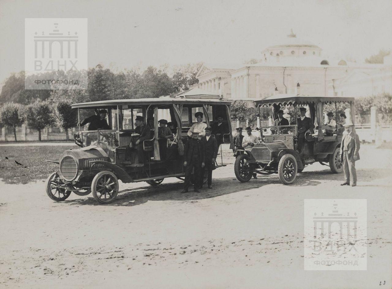 Автомобильная станция в Останкине