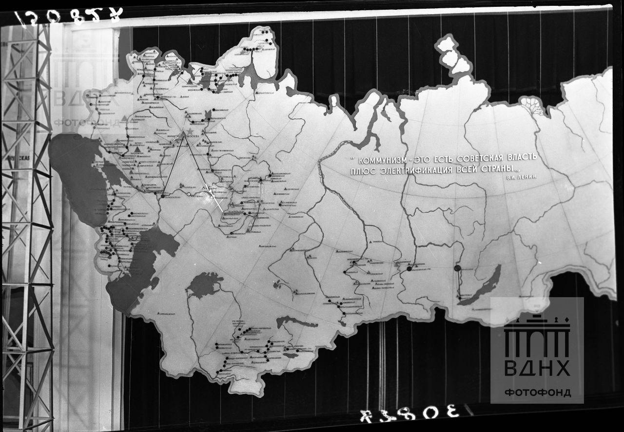 Главный павильон. Карта.