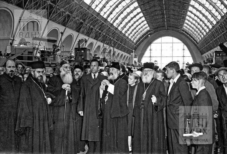 Болгарская делегация священников