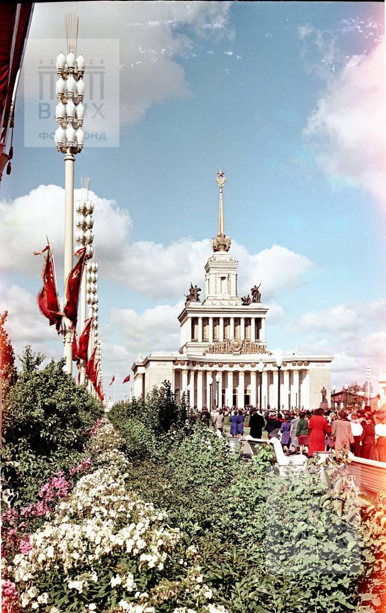Вид на Главный павильон.