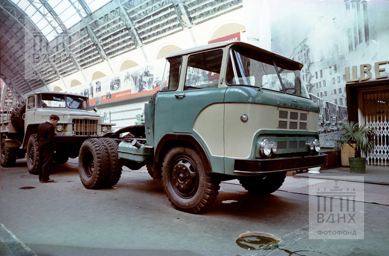 Опытный грузовик КАЗ-605 «Колхида»