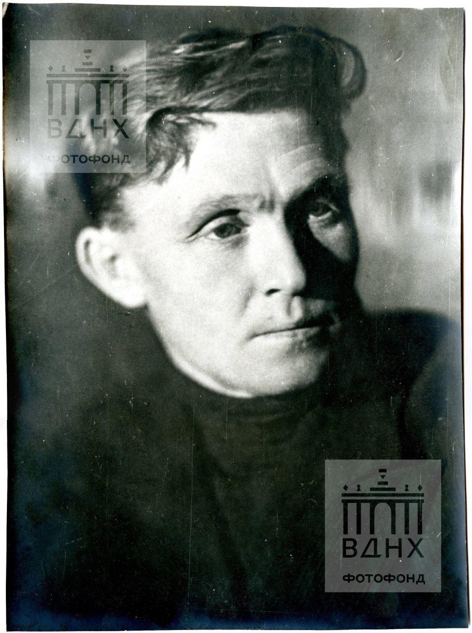 Скульптор П.И. Добрынин, портрет
