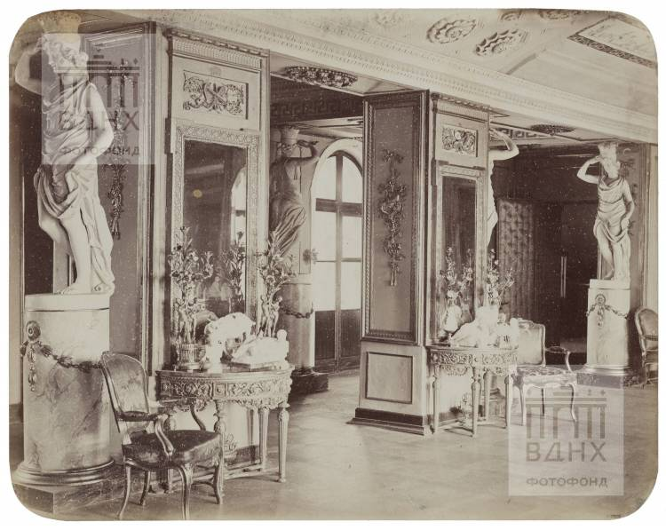 Останкинский дворец. Проходная к Итальянскому павильону. 1868-1870