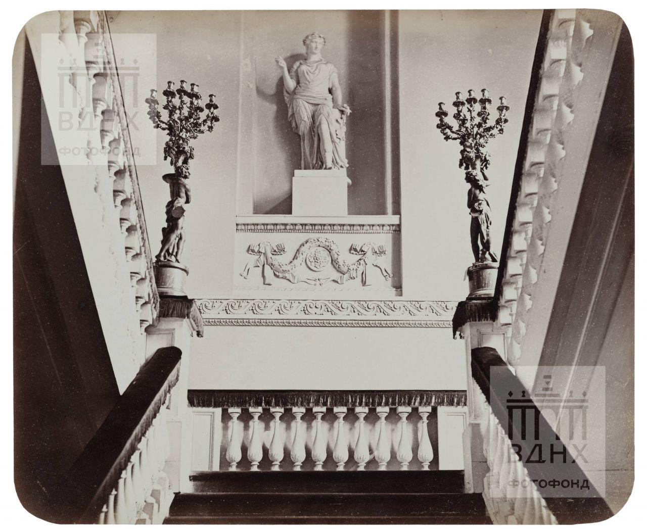 Останкинский дворец. Парадная лестница. 1868-1870