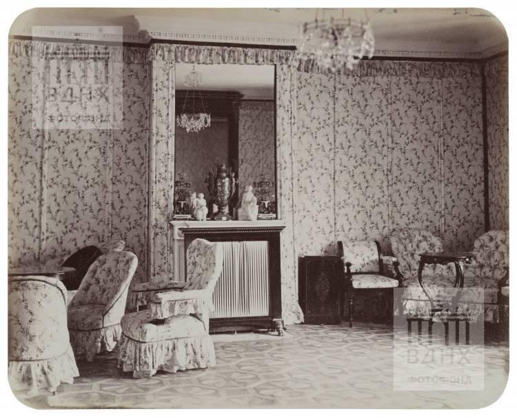 Останкинский дворец. Будуар императрицы Марии Александровны. 1868-1870