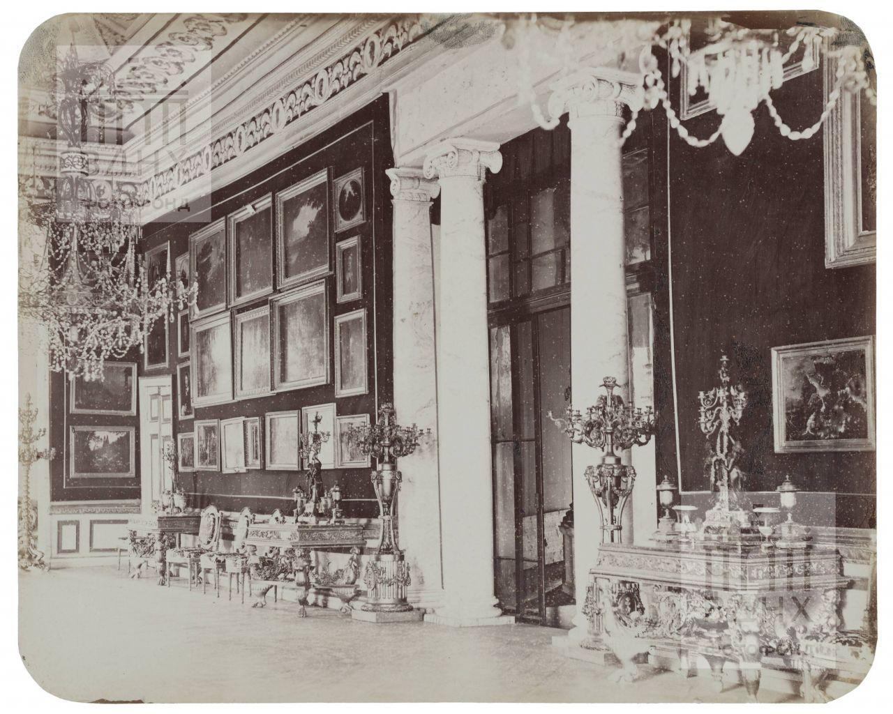 Останкинский дворец. Картинная галерея. 1868-1870